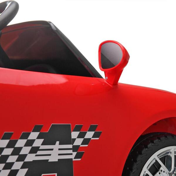 6V Remote Control Kids Ride on Car with MP3, Red 6v remote control kids ride on car with mp3 red 34