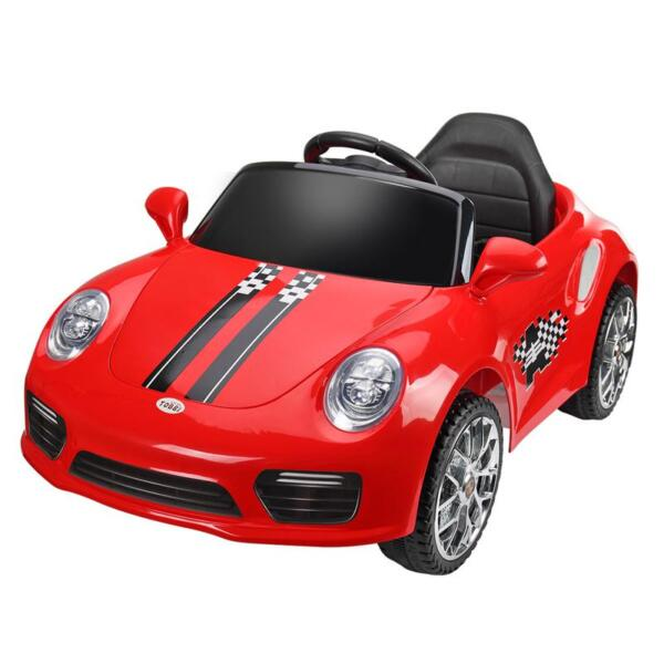 6V Remote Control Kids Ride on Car with MP3, Red 6v remote control kids ride on car with mp3 red 5