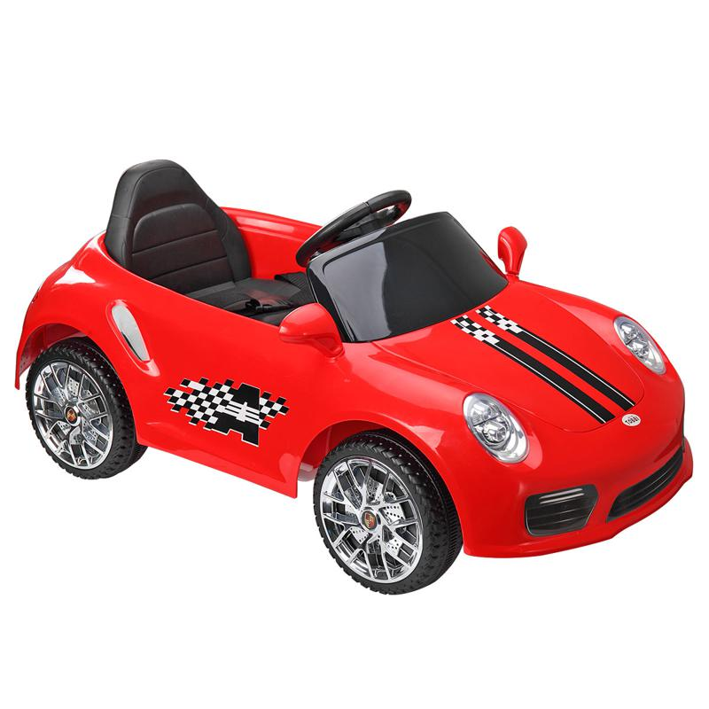 6V Ride On RC Car Kids Vehicle, Red 6v remote control kids ride on car with mp3 red 8 1