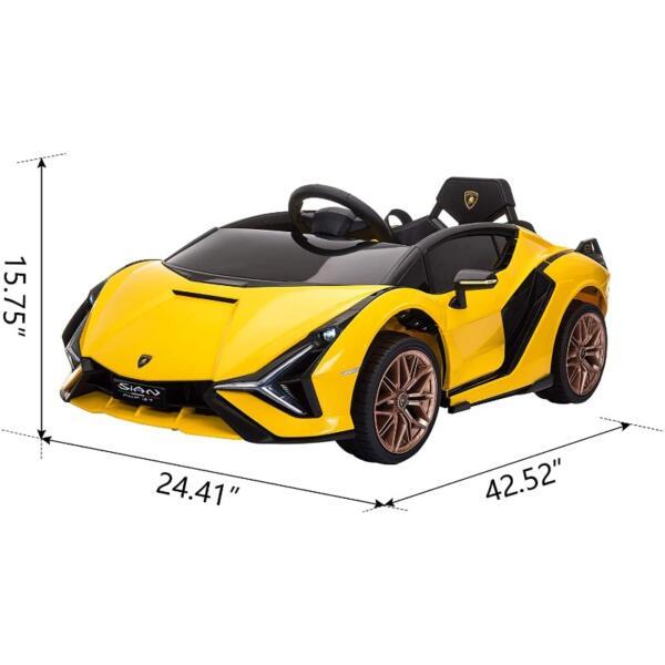 Licensed Lamborghini Sian Car Toy w/ Scissor Door 7 26