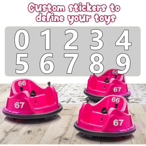 6V Children's Electric Bumper Car with Remote Control 7 28