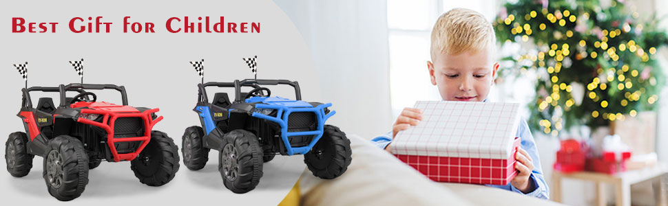 12V Toy Truck Battery Operated Ride-on for Toddlers 7 29