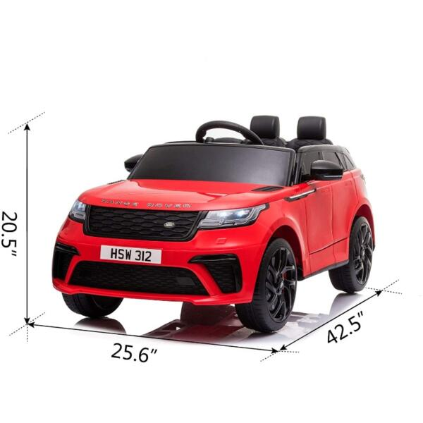 12V Licensed Range Rover Vehicle Ride On Car with Remote 7 43