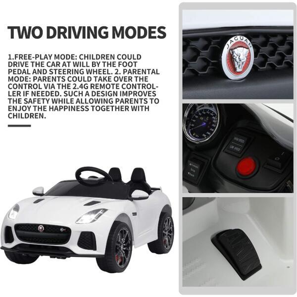 12V Battery Powered Ride-on Jaguar F-Type SVR Car Toy 7 44