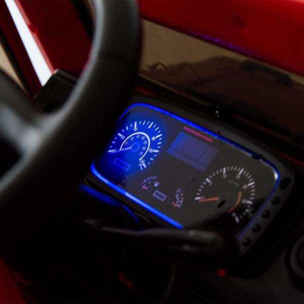 6V Mercedes Benz Unimog U500 Kids Ride on SUV Car with Remote Control, Red 7 52