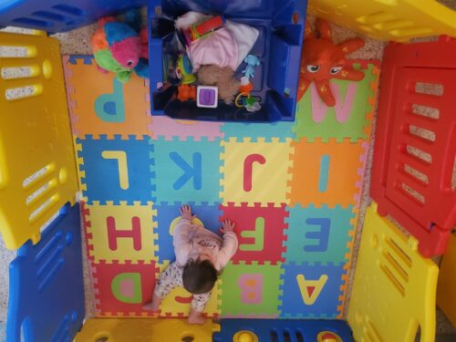Portable Play Yard Baby Gate 8 Panel photo review