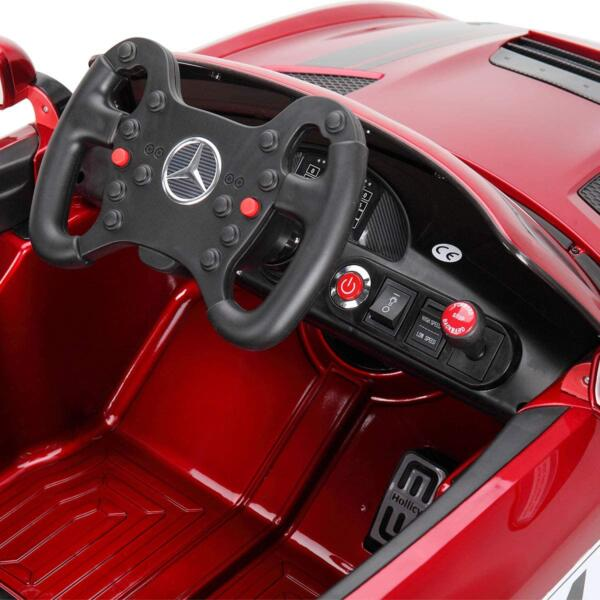 Mercedes Benz Licensed AMG GT 12V Ride On Car for Kids, Red 716s0HmEXcL. AC SL1200