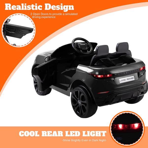 12V Land Rover Kids Power Wheels Ride On Toys With Remote, Black 71RFVtBQArL. AC SL1500
