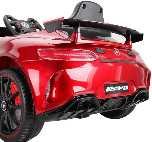 12V Electric Licensed Mercedes Benz AMG GT Kid Ride on Car, Red 71sJVpNR8fL. AC SL1200