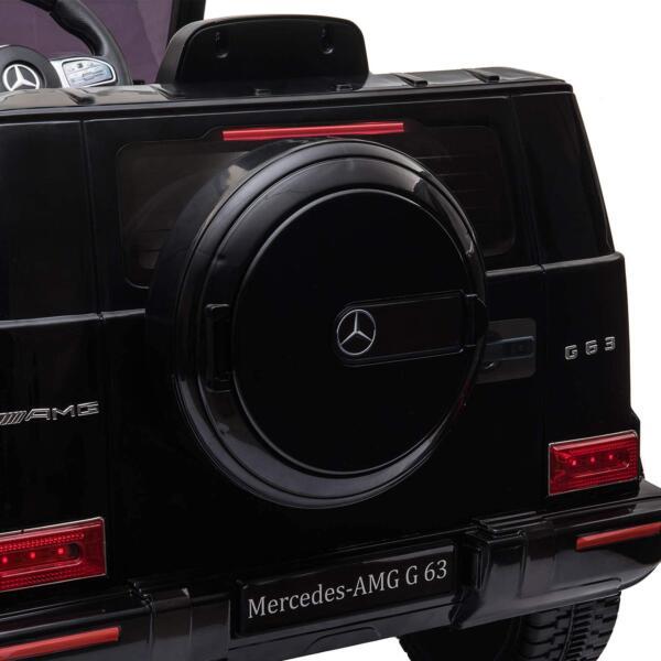 12V Mercedes-Benz AMG G63 Kids Ride On Cars Toys with Remote Control, Black 71w5D7kNOvL. AC SL1500