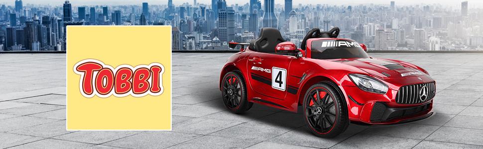 12V Electric Licensed Mercedes Benz AMG GT Kid Ride on Car, Red 78a2f514 f355 4fe8 ad12 ed063fd658ee. CR00970300 PT0 SX970 V1