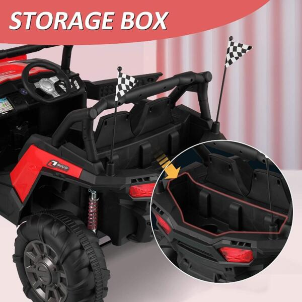 12V Toy Truck Battery Operated Ride-on for Toddlers 8 22