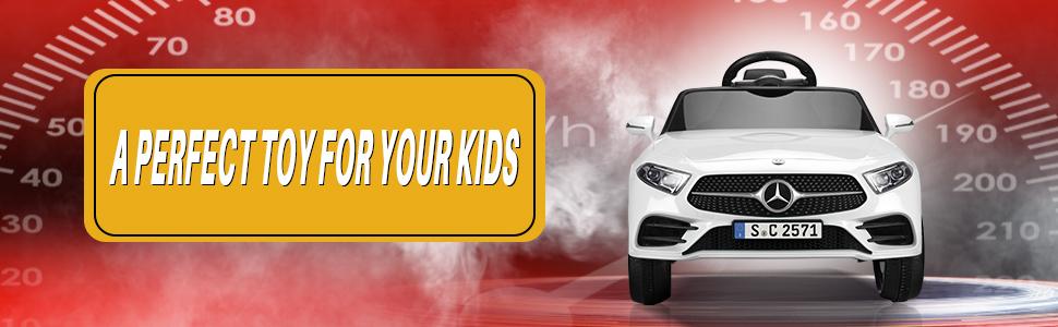 12V Electric Car for Kids Licensed Mercedes Benz CLS 350 Ride On Car 8 26