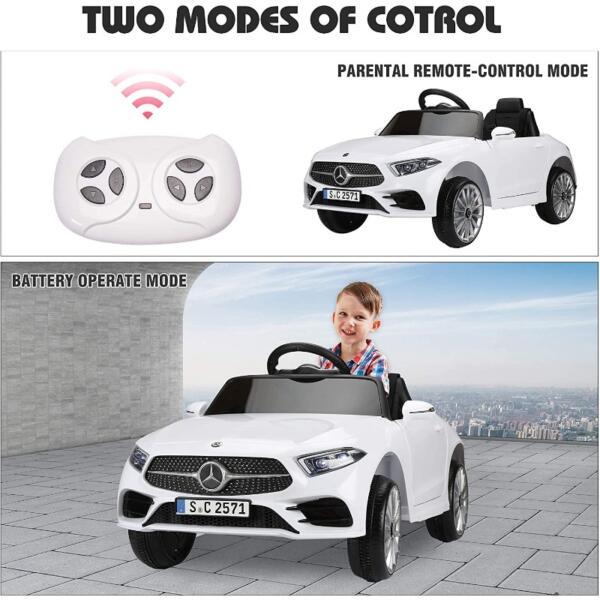 12V Electric Car for Kids Licensed Mercedes Benz CLS 350 Ride On Car 8 27