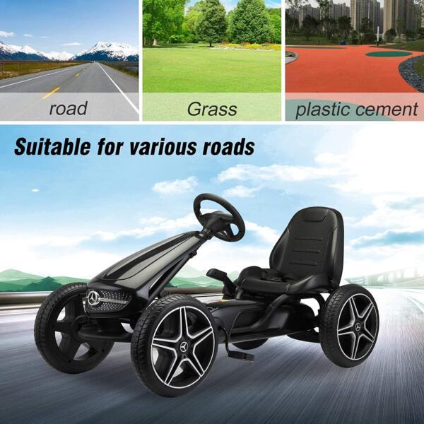 Mercedes Benz Kids Go Kart Ride On Car For Children, Black 815czU6r6bL. AC SL1500