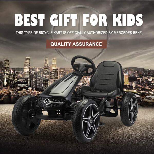 Mercedes Benz Kids Go Kart Ride On Car For Children, Black 81Ru8I38wgL. AC SL1500