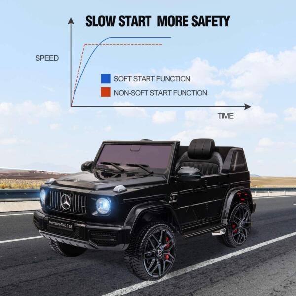 12V Mercedes-Benz AMG G63 Kids Ride On Cars Toys with Remote Control, Black 81SiE92TUYL. AC SL1500