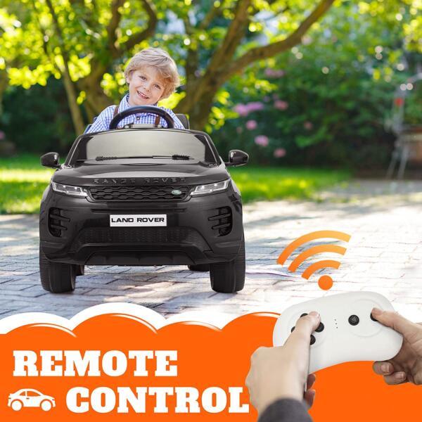 12V Land Rover Kids Power Wheels Ride On Toys With Remote, Black 81Tq2qYKQsL. AC SL1500