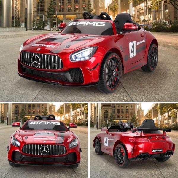 12V Electric Licensed Mercedes Benz AMG GT Kid Ride on Car, Red 81VozIt3mdL. AC SL1200