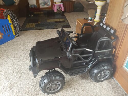 Kid's Truck Toy Ride on Jeep with Remote Control photo review