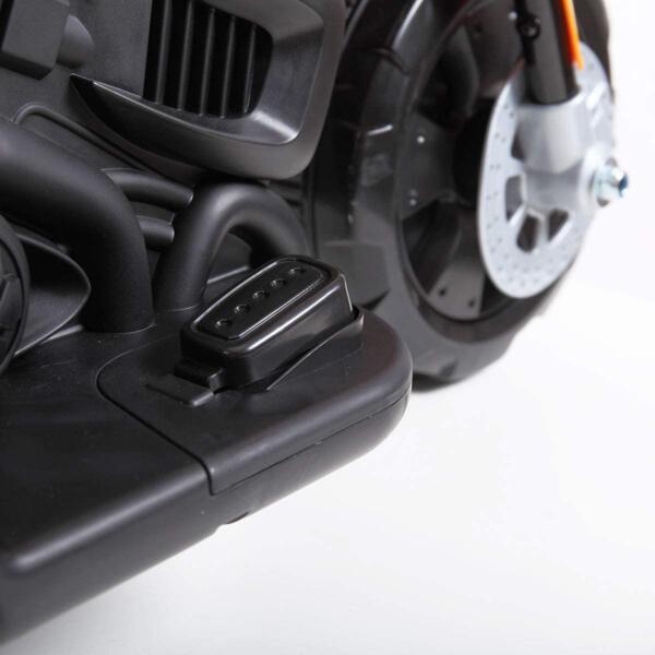 6V Kids Motorcycle Battery Powered Motorcycle for Kids, Orange 9 5