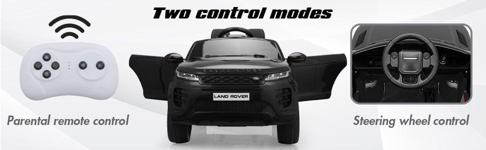 12V Land Rover Kids Power Wheels Ride On Toys With Remote, Black 9a27a91c 6c3f 466d b6b5 a92af322a3aa. CR00970300 PT0 SX970 V1