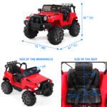 12V Kids Jeep Wrangler Electric Car W/ RC 9b338207 cc04 4681 a787 f9accc808c01