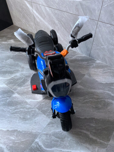 3 Wheel Motorcycle for Kids, Blue photo review