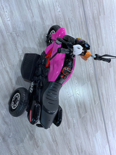 3 Wheel Motorcycle for Kids, Rose Red photo review