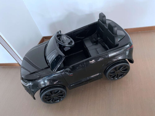 12V Land Rover Kids Power Wheels Ride On Toys With Remote, Black photo review
