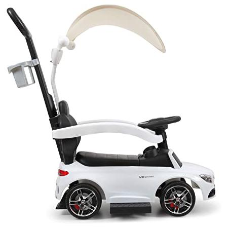 Mercedes Benz Licensed Kids Ride-on Push Car, White