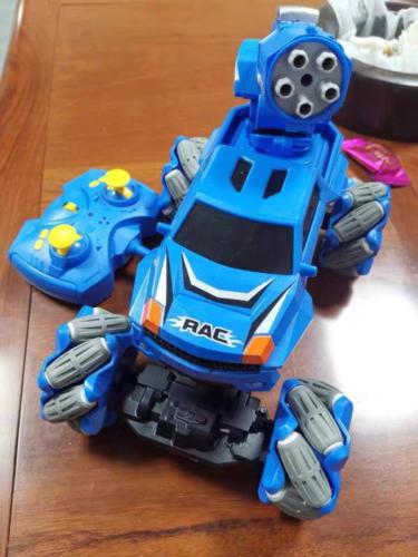 Gesture Sensing RC Stunt Car for Kids, Blue photo review