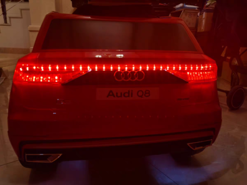 12V Audi Q8 Kids Electric Car With Remote Control, Red photo review
