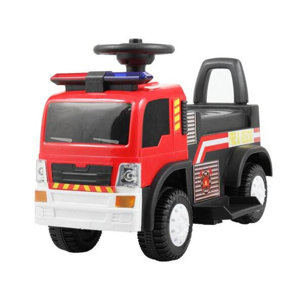 Ride On Fire Truck Car 6V Vehicle for Kids, Red TH17A04272