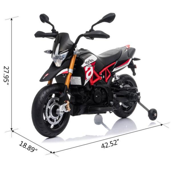 12V kids motorcycle bike W/ Training Wheels TH17A066117 1