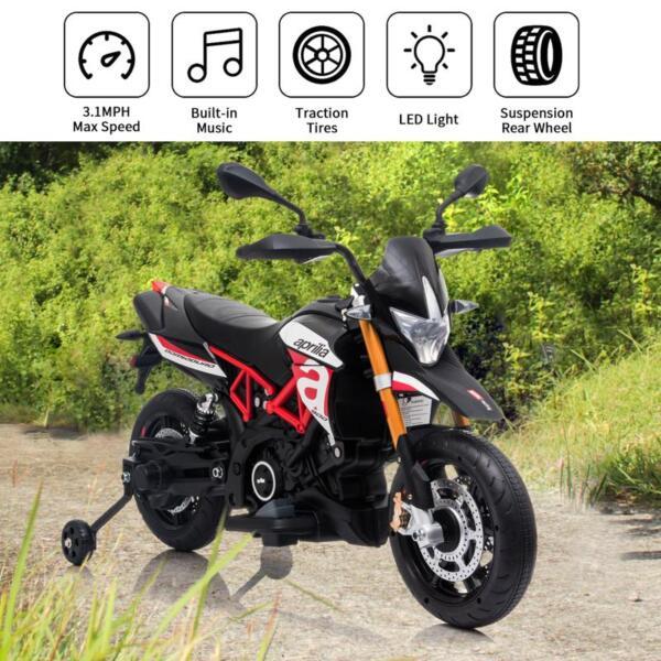 12V kids motorcycle bike W/ Training Wheels TH17A066120 1
