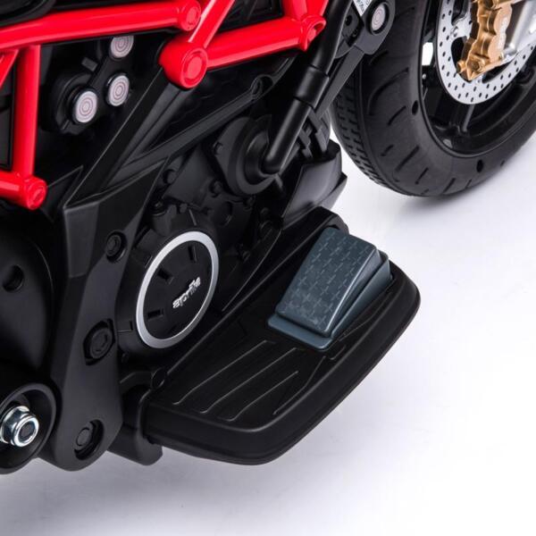 12V kids motorcycle bike W/ Training Wheels TH17A06613 1