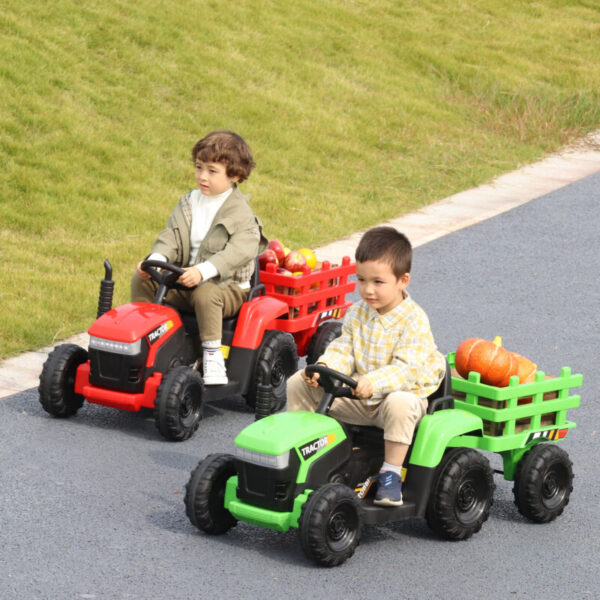 kids ride-on cars benefit a lot