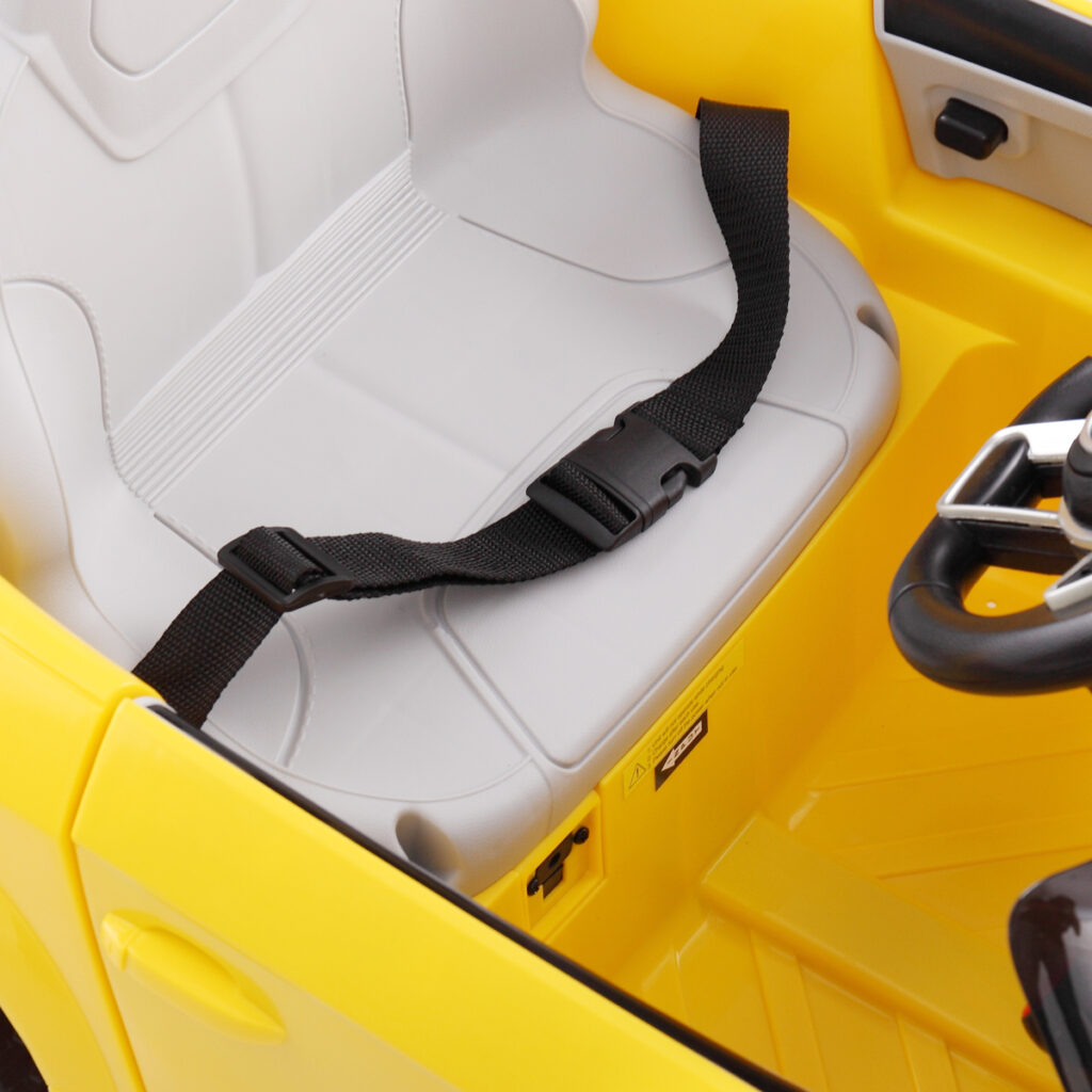 Audi TT RS Ride On Car For Kids With Remote Control, Yellow TH17K0181 14