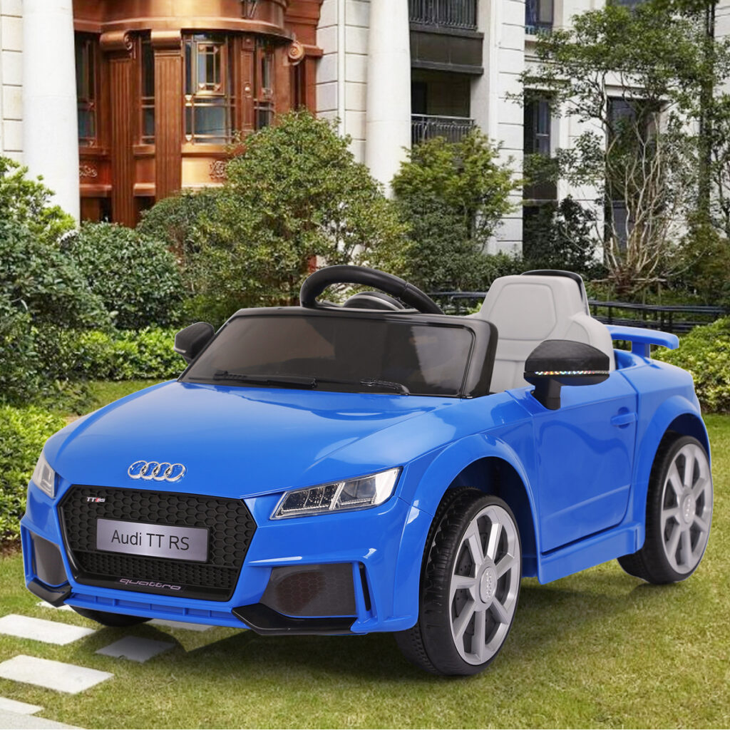 Audi TT RS Ride On Car For Kids With Remote Control, Blue TH17K0361 54
