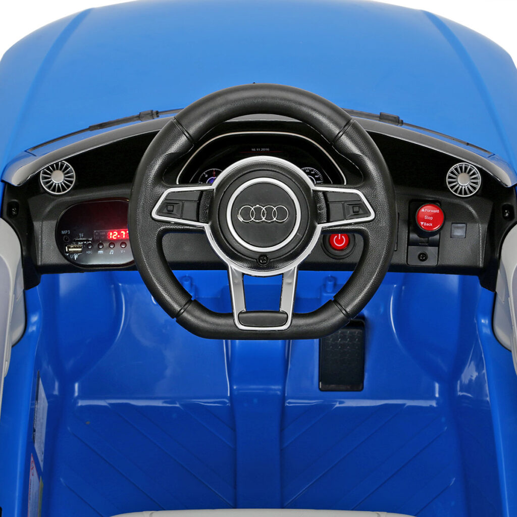 Audi TT RS Ride On Car For Kids With Remote Control, Blue TH17K0361 j3