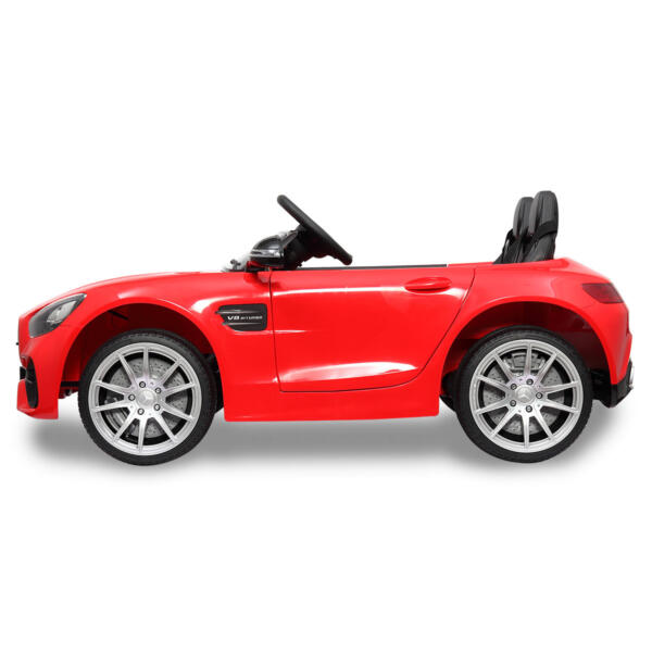 Mercedes Benz Licensed 12V Kids Electric Ride On with 2 Seater, Red TH17L0380 4