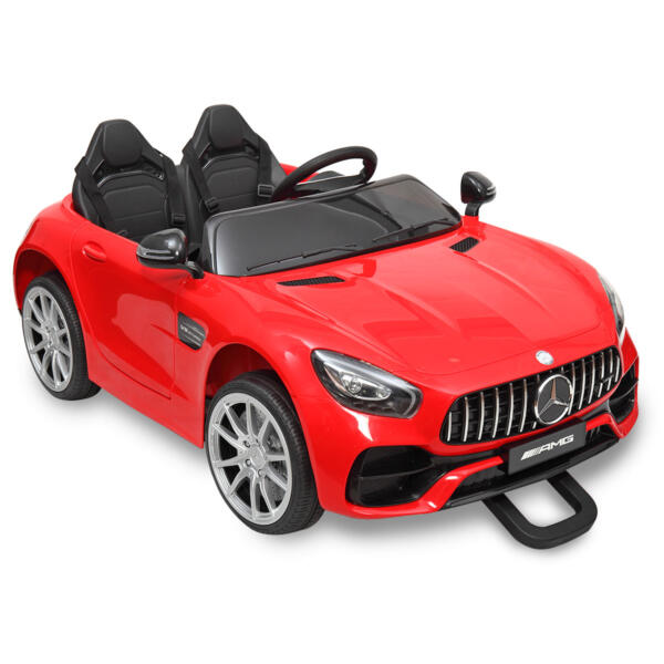 Mercedes Benz Licensed 12V Kids Electric Ride On with 2 Seater, Red TH17L0380 40