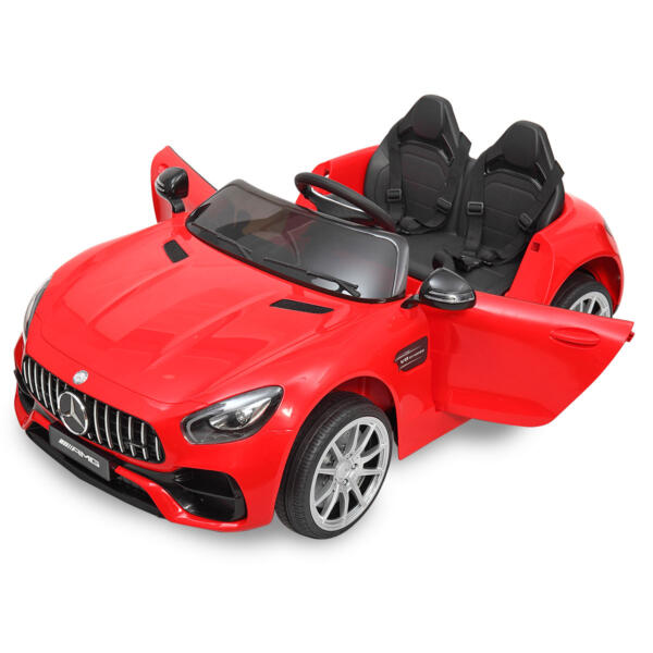 Mercedes Benz Licensed 12V Kids Electric Ride On with 2 Seater, Red TH17L0380 45