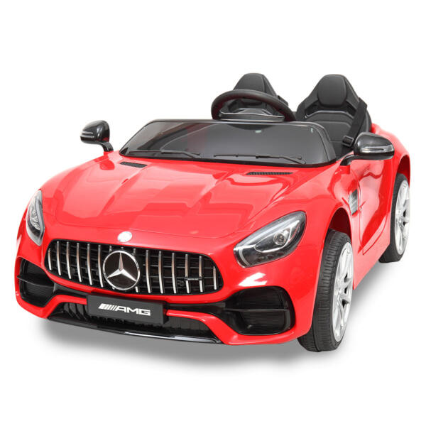 Mercedes Benz Licensed 12V Kids Electric Ride On with 2 Seater, Red TH17L0380 47