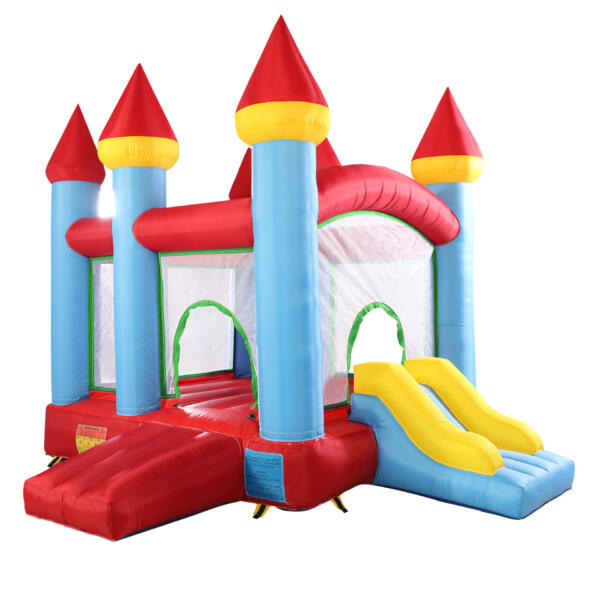 Inflatable Bounce House Jumping Castle with Slide TH17M0543 29