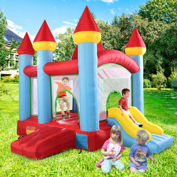 Inflatable Bounce House Jumping Castle with Slide TH17M0543 cj3