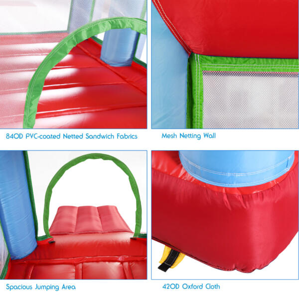 Inflatable Bounce House Jumping Castle with Slide TH17M0543 zt2 1