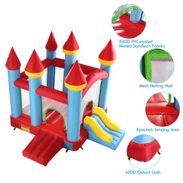 Inflatable Bounce House Jumping Castle with Slide TH17M0543 zt3 2