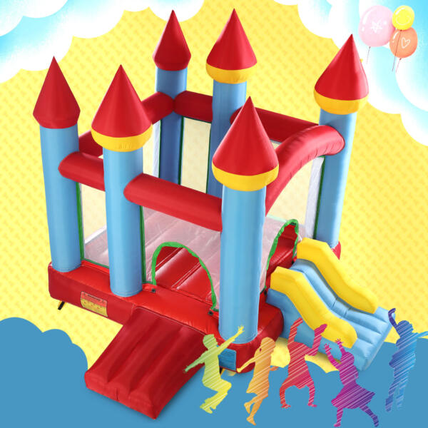 Inflatable Bounce House Jumping Castle with Slide TH17M0543 zt6 1